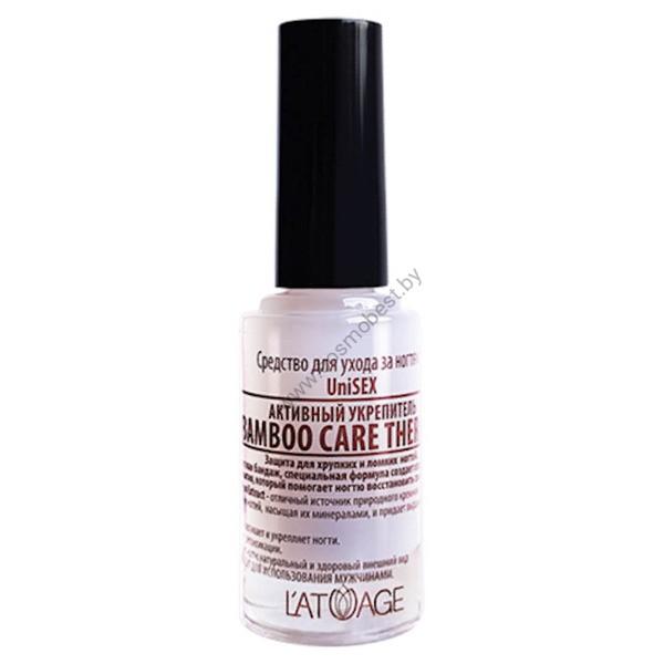 Средство по уходу за ногтями Активный Укрепитель «Bamboo Care Therapy» от Latuage