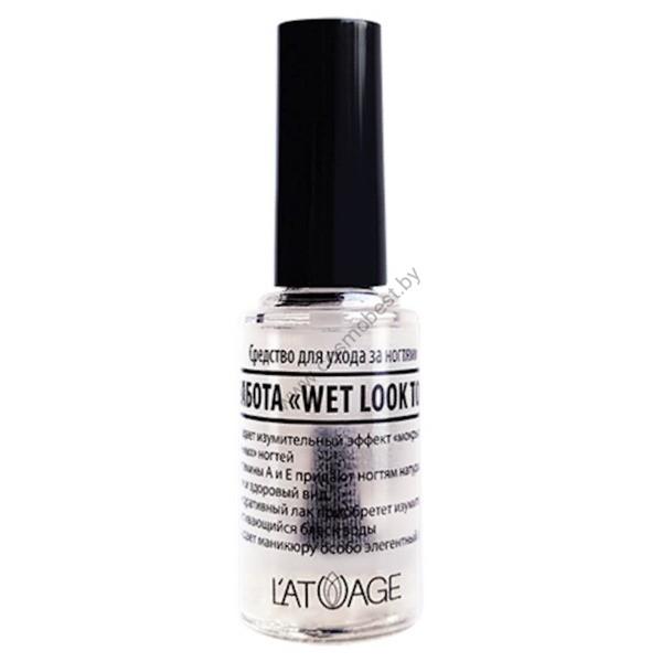 Средство по уходу за ногтями «Забота Wet Look Top» от Latuage