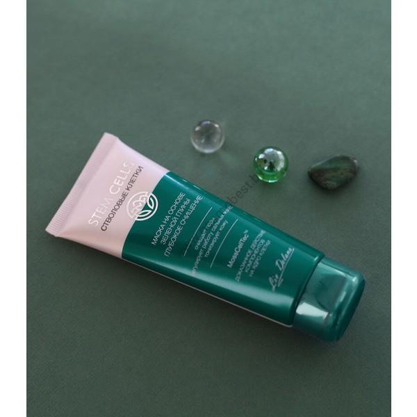 Маска на основе зеленой глины «Глубокое очищение» Stem Cells от Liv Delano