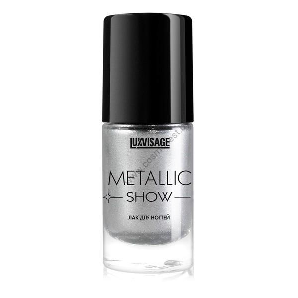 Лак для ногтей с эффектом металлического сияния METALLIC SHOW от Luxvisage