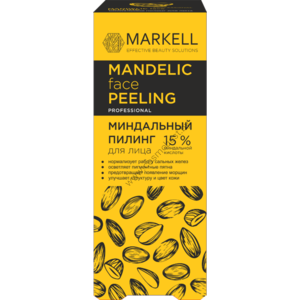 Миндальный пилинг для лица от Markell