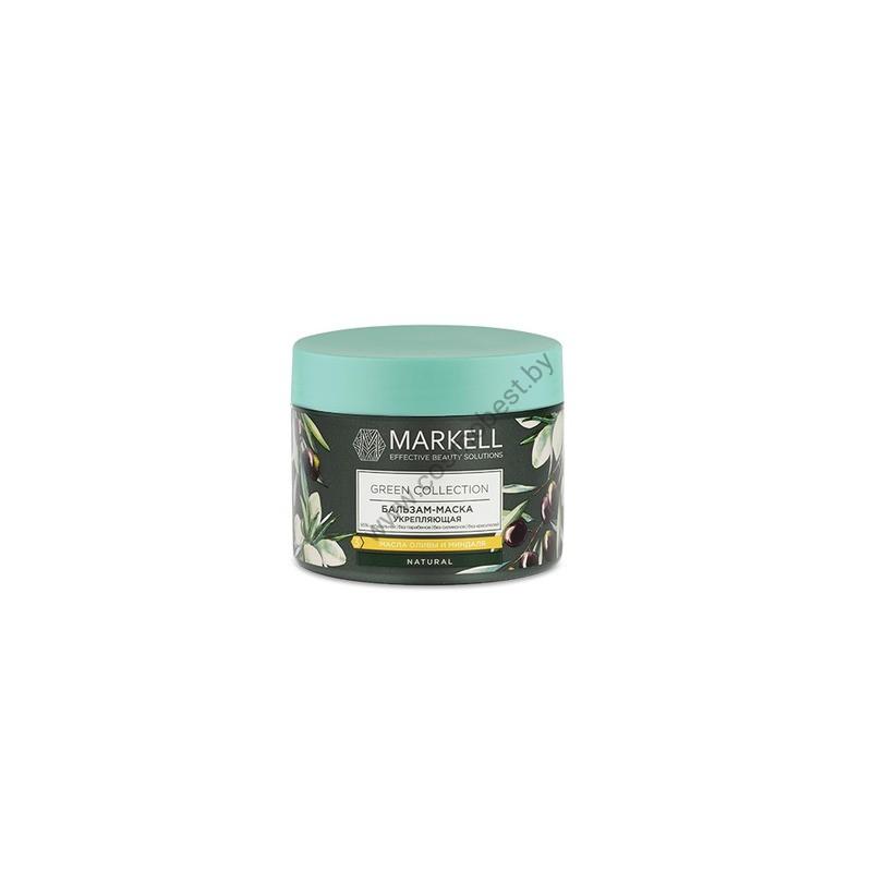 Green Collection Бальзам-маска для волос укрепляющая от Markell