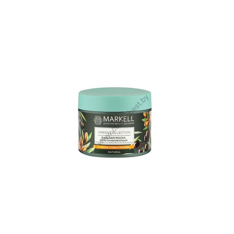 Green Collection Бальзам-маска для волос восстанавливающая от Markell