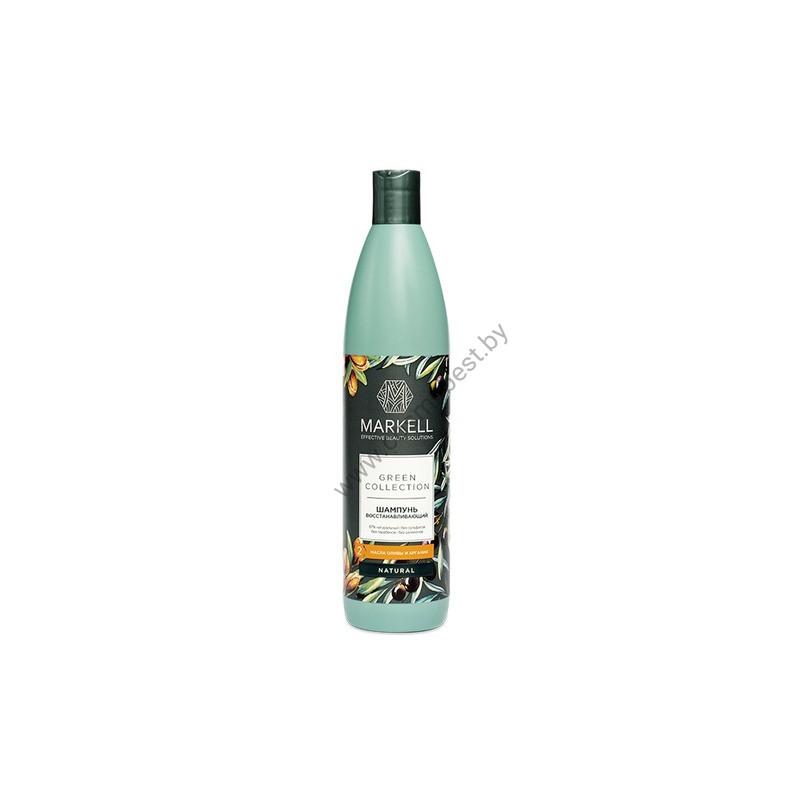 Green Collection Шампунь для волос восстанавливающий от Markell