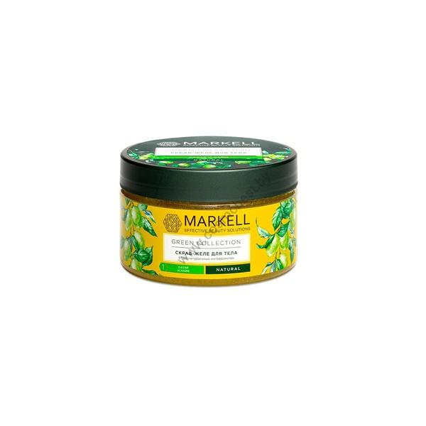 Скраб-желе для тела «Сахар и лайм» Green Collection от Markell