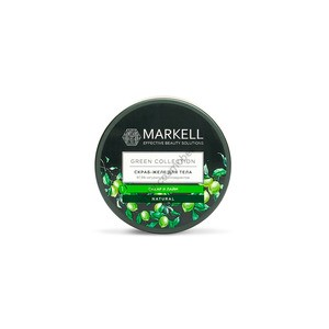 "Скраб-желе для тела ""Сахар и лайм"" Green Collection от Markell"