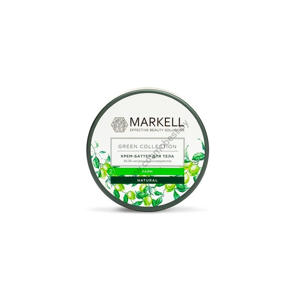 Крем-баттер для тела «Лайм» Green Collection от Markell