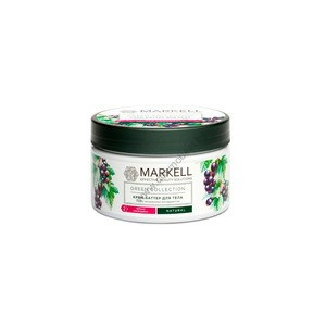 "Body Butter ""Black Currant"" Green Collection by Markell"