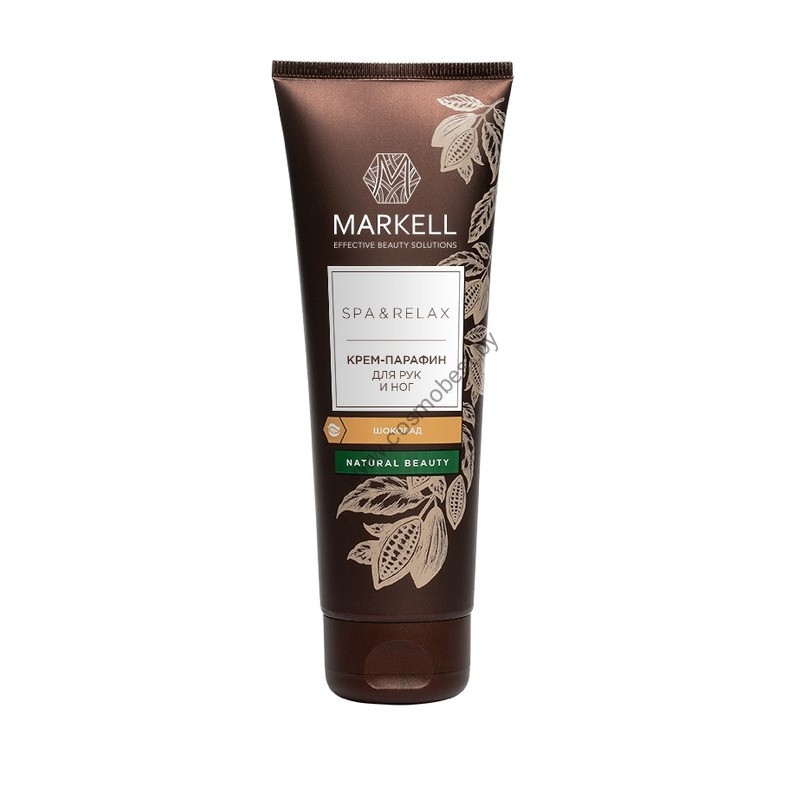 SPA&RELAX Крем-парафин для рук и ног Шоколад от Markell