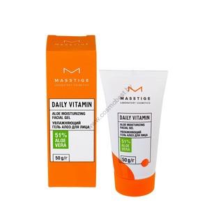 Увлажняющий гель Алоэ для лица Daily Vitamin от Masstige