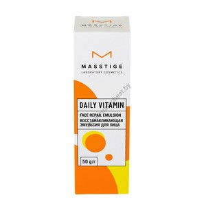 Восстанавливающая эмульсия для лица Daily Vitamin от Masstige