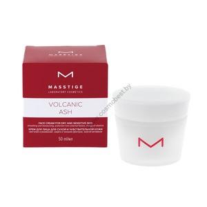Крем для лица для сухой и чувствительной кожи Volcanic Ash от Masstige