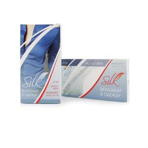 """Тонкие вкладыши (прокладки для подмышек, защита одежды от пота) """"Silk"""" 10шт (белые) от Medical Fort"""