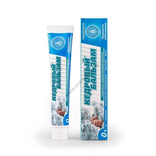 Паста зубная КЕДРОВЫЙ БАЛЬЗАМ Природное отбеливание от Modum