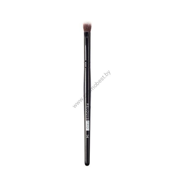 Кисть косметическая для консилера и кремовых текстур Concealer & Creamy Textures Brush №14 от Relouis