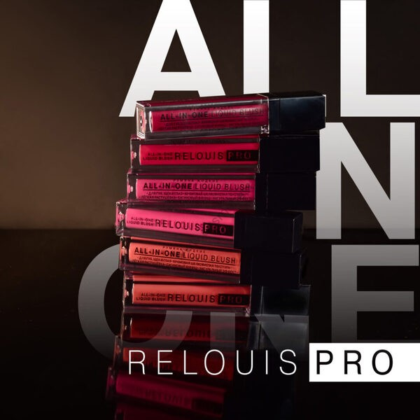 Румяна жидкие Pro All-in-One Liquid Blush от Relouis