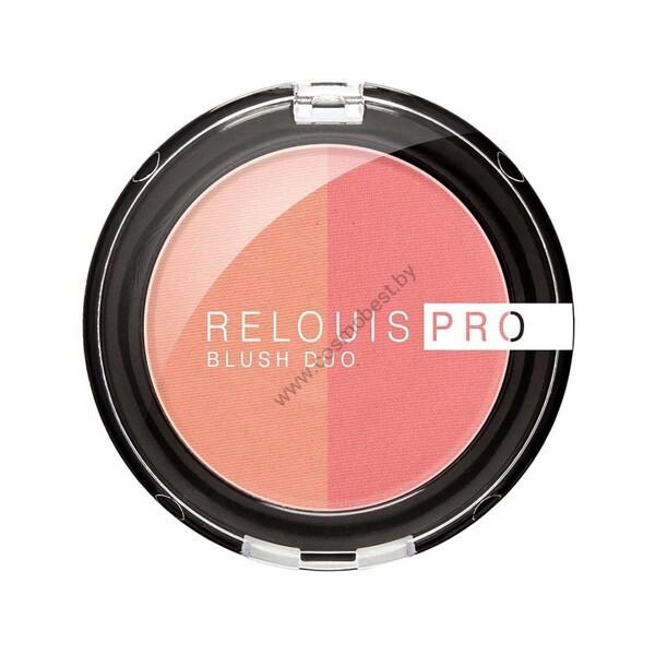 Румяна компактные Relouis PRO BLUSH DUO от Relouis