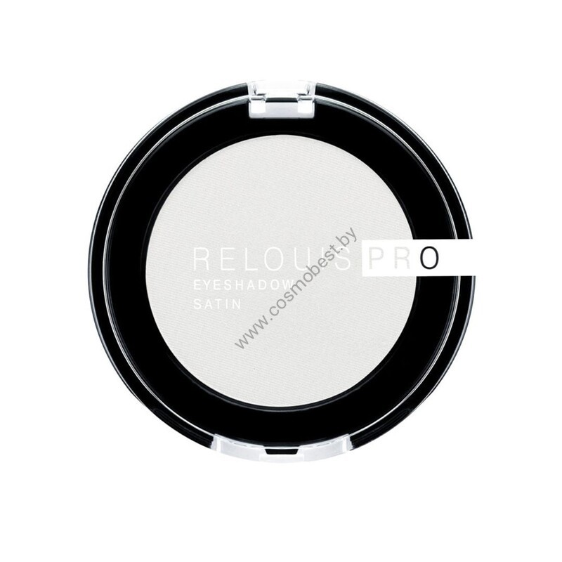 Тени для век Relouis PRO eyeshadow SATIN от Relouis