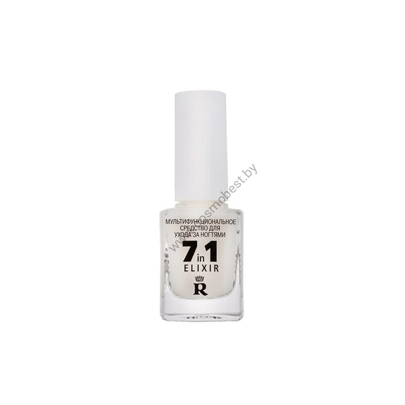 Мультифункциональное средство для ухода за ногтями 7in1 ELIXIR от RELOUIS
