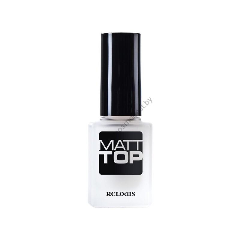 Matt top coat of nail polish MATT TOP by RELOUIS